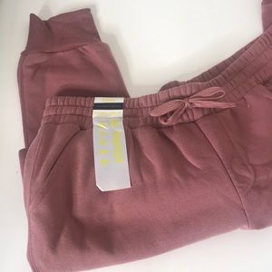 Roma by Rosee the Perfect Jogger Dusty Rose XL